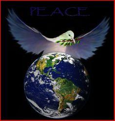 visualize world peace.