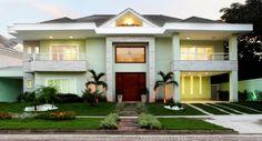 Fachada residência na Barra da Tijuca -Projeto de Marina Machado