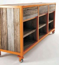 Vintage Furniture Collection Ideas From Recycled Teak Wood, Roadie . - Use J/K to navigate to previous and next images Vintage Industrial Furniture, Metal Furniture, Repurposed Furniture, Pallet Furniture, Furniture Projects, Rustic Furniture, Modern Furniture, Furniture Design, Industrial Pipe