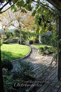 Ein Schweizer Garten: Der alljährliche Weidenschnitt