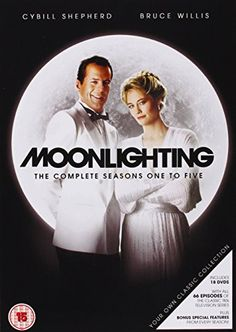MOONLIGHTING :COMPLETE SEASONS 1 TO 5 (PAL/REG. 2)