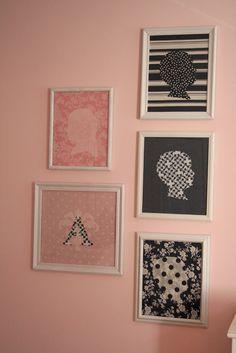 design dump: fabric silhouettes