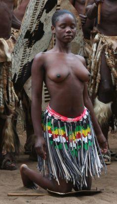 giovani ragazze africane nude