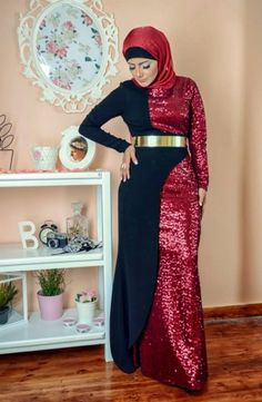Soiree hijab dresses by – Just Trendy Girls