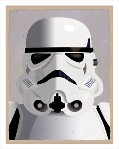 Star Wars Stormtrooper Print 8x10 print Star Wars by aswegoArts, $12.50