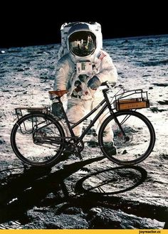 велосипед,вело,космонавт