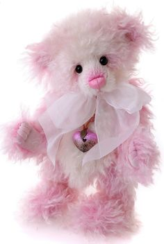 Adorable Pink Teddy Bear