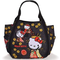 37af77a7a89f  SANRIO  Hello Kitty Hello Kitty Limited Japanese Pattern Mothers Bag Tote  Bag