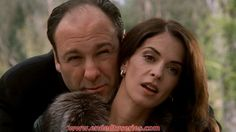 Tony & Gloria on a good day Best Tv Shows, Best Shows Ever, Annabella Sciorra, Les Sopranos, Tony Soprano, Celebrity Faces, True Detective, Quote Posters, One In A Million