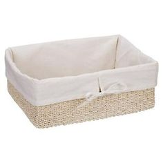 The Container Store > Natural Lined Makati Baskets