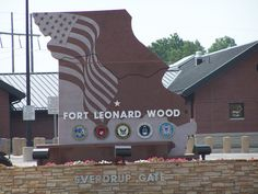 Fort Leonard Wood, MO Our son did his Basic Training and MOS training here. We visited upon his graduation. My brother also attended MOS training here in the Fort Leonard Wood Missouri, Army Times, Saint Robert, Army Sergeant, Military Life, Military Service, Army National Guard, Fort Bragg, Being In The World