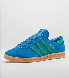 size 40 ee3b1 f0338 adidas Originals Hamburg Blue Adidas, Adidas Originals, Trainers, Sneakers,  Hamburg, Sweatshirt