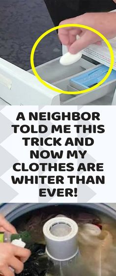 We are all aware of the fact that white laundry is something that is really difficult to be kept that way. You constantly have stains on every white shirt and you can't keep it fresh for long. In case Household Cleaning Tips, House Cleaning Tips, Diy Cleaning Products, Cleaning Solutions, Cleaning Hacks, Deep Cleaning, Household Cleaners, Cleaning Routines, Cleaning Cloths