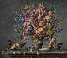 Christian Louboutin Shoes & Handbags Painted into Famous Still Life Compositions http://shar.es/R824c