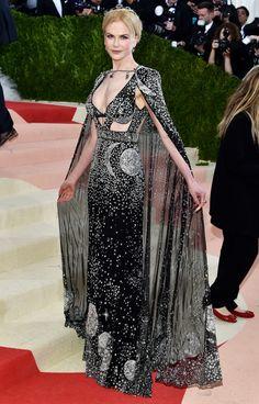 Best Red Carpet Dresses of 2016 - Nicole Kidman in Alexander McQueen at the Met Gala