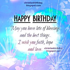 26 Delightful Christian Birthday Quotes Images Birthday Msgs