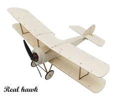 Sopwith Pup Balsa Wood Wingspan Biplane Warbird Aircraft Kit - Boggle Up Balsa Wood Models, Wood Plane, Diy Robot, Warhammer 40000, Model Building Kits, Wood Toys, Diy Kits, Aviation, Decoration