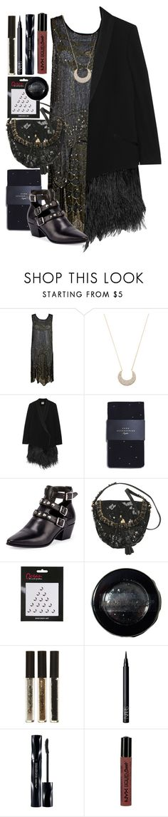 """Untitled #755"" by no0ne ❤ liked on Polyvore featuring Lucky Star, Haute Hippie, Zara, Yves Saint Laurent, Marc Jacobs, Topshop, Manic Panic NYC, Miss Selfridge, NARS Cosmetics and Shiseido"