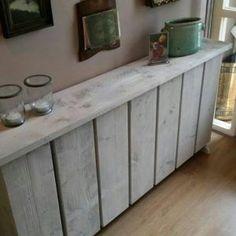 living room ideas – New Ideas Wood Pallet Furniture, Wood Pallets, Diy Furniture, Diy Radiator Cover, Scaffolding Wood, Palette Deco, Home Entertainment Centers, Hallway Designs, Creation Deco