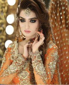 Mehndi Outfit, Bridal Makup, Mehndi Brides, Muslim Beauty, Bridal Makeover, Pakistani Wedding Outfits, Bridal Photoshoot, Braut Make-up, Asian Bridal