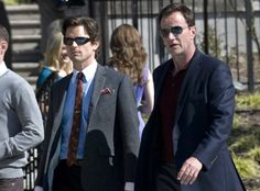 neal and peter white collar - love the shades