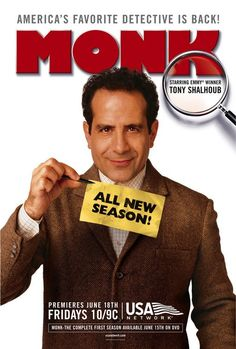 Monk is an American comedy-drama detective mystery television series created by…