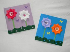 1000 images about origami on pinterest origami 3d and heart cards - Fleur fete des meres ...