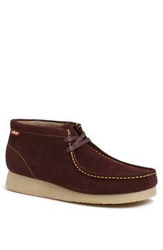 Clarks® Originals 'Stinson Hi' Moc Toe Chukka Boot available at #Nordstrom