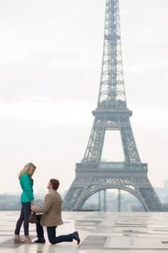 My Proposal in Paris.. most perfect moment ever.