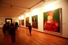 Botero Museum, Bogotá - I would love to see a Botero original! Museum Art Gallery, Art Museum, Dali, Renoir, Milwaukee, Picasso, Spanish Art, Colombia Travel, Panama Canal