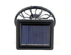Solar Cell Energy Panel Fan Room Sun Ventilator (Black) - http://www.yourglt.com/solar-cell-energy-panel-fan-room-sun-ventilator-black/?utm_source=PN&utm_medium=http%3A%2F%2Fwww.pinterest.com%2Fpin%2F368450813235896433&utm_campaign=SNAP%2Bfrom%2BGreening+Your+Home
