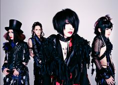 LYCAON. I especially like their song Pierrot, it's so unique. Great and renown Visual Kei band! c: #visualkei #jrock