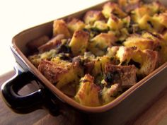 Spinach and Pancetta Strata from FoodNetwork.com