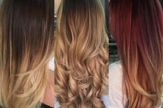 Meet FOILYAGE, A New Sombre Technique (middle pic. is my new fav hair color!!)  Modern Salon