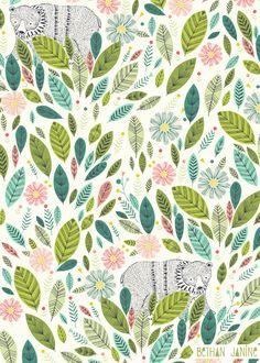 Leaf Jungle by Bethan Janine