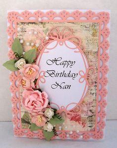 Birthday Card using Prima Romantique