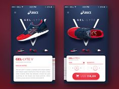 Asics Mobile App Concept