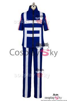 Boku no Hero Academia My Hero Academia Izuku Midoriya Training Suit Cosplay Costume_4