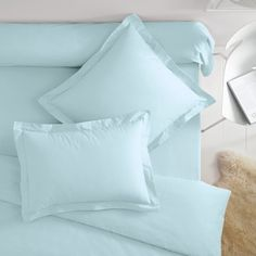 Polycotton Pillowcases with Flat Cuff