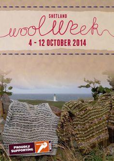 Shetland Wool Week 2014 Programme definitely on my bucketlist!