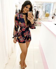 rompers Thin Hair Cuts blunt cuts for thin hair Sexy Outfits, Chic Outfits, Sexy Dresses, Cute Dresses, Short Dresses, Summer Outfits, Fashion Dresses, Romper Outfit, Outfit Trends