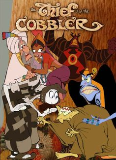 The Thief and the Cobbler. 1993. Richard Williams Productions. Allied Filmmakers. USA