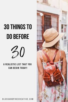 30 Things To Do Before A Realistic 30 Before 30 List - Makeup Tips Summer 30 Things To Do Before 30, 30 Before 30 List, New Things To Try, Turning Thirty, Turning 30, One Year Old, 25 Years Old, 30 Years Old Quotes, 30th Birthday Ideas For Women