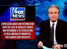 Jon Stewart, as usual, is far too kind to Fox News