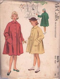 Easily search thousands of authentic and original vintage sewing patterns for clothing from the 1940's, 1950's, 1960's, 1970's, 1980's, 1990's and retro fashion clothes designs including dresses, party gowns, casual blouses, shorts, pants for men, women and children.
