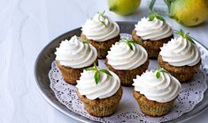 Sweets Recipes, Mini Cupcakes, Muffins, Recipies, Deserts, Food And Drink, Pasta, Cookies, Baking