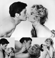 Brigitte Bardot & Alain Delon ~ Check out for more pins: https://www.pinterest.com/neno3777/alain-delon/