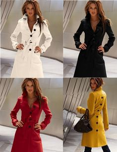 Delicious Fall Coat- omg want the red!! its on sale!!