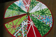 8. The finished christmas tree skirt by thundymac, via Flickr