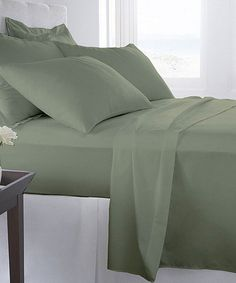 Look at this Sage Becky Cameron 1800 Series Sheet Set on #zulily today!